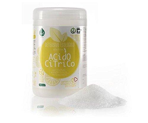 BIOLU - Ácido cítrico - Ecológico - Suavizante, abrillantador y antical natural - Saludable y ecológico - Vegano - 1 KG