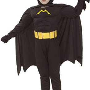 Batman Musculoso (5-6 años)