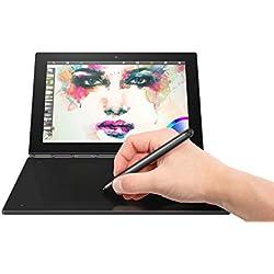 """Lenovo Yoga Book 1.44GHz 10.1"""" 1920 x 1200Pixeles Pantalla táctil Negro - Ordenador portátil (Híbrido (2-en-1), Negro, Convertible (Carpeta), x5-Z8550, Intel® Atom™, BGA1380)"""