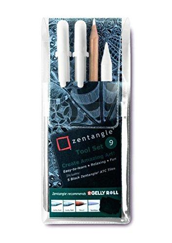 Zentangle - Juego de herramientas para artistas (9 piezas)