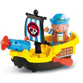 VTech Tut Tut Copains Le Bateau Pirate Magique de Simon le mousaillon Niño - Juegos educativos (AAA, 250 mm, 100 mm, 191 mm, 450 g)