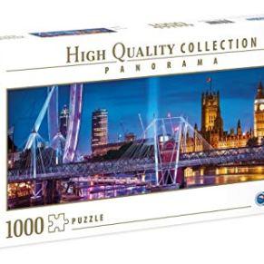 Clementoni Collection Puzzle panorama-london-1000Unidades, Multicolor, 39485