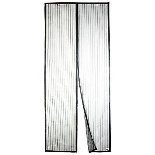 Apalus Magnet Fliegengitter Tür Insektenschutz 90x200cm, Der Magnetvorhang ist Ideal für die Balkontür, Kellertür Und Terrassentür, Kinderleichte Klebemontage Ohne Bohren (Nicht Kürzbar)
