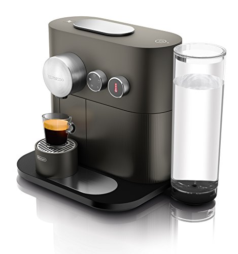 Delonghi EN350.G Macchina per Il caffè con Sistema a Capsule Nespresso, 1600 W, 1 Cups, Plastica,...