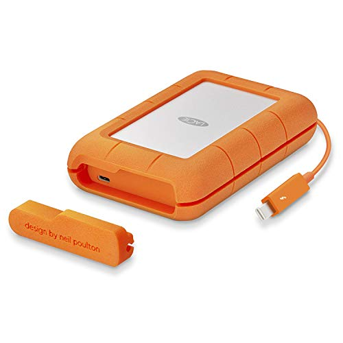 Lacie STFS4000800 Rugged Thunderbolt USB-C HardDisk