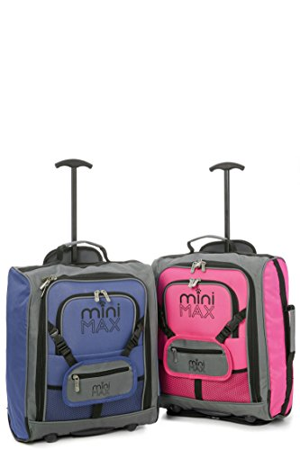 cb46d22e34e4 Sets of MiniMAX Childrens Kids Luggage Carry On Trolley Suitcase ...