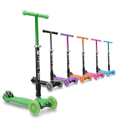 3Style Scooters RGS-2 Monopattino a 3 Ruote per Bambini - Perfetto per i Bambini con più di 5 Anni...