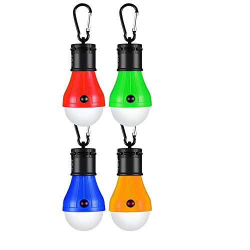 KOREY LED da Campeggio,Resistente Esterno LED Lampada Portatile Lanterna da Campeggio 4 Pezzi,KOREY...
