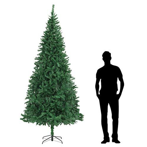 mewmewcat Albero di Natale Artificiale 300 cm Verde