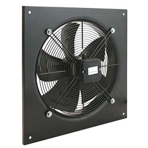 PrimeMatik - Estrattore d'Aria a Muro di 400 mm per la Ventilazione Industriale 1360 RPM Quadrati...