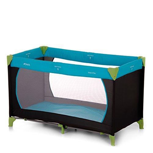 Hauck Dream N Play Lettino da Viaggio 3 Pezzi 120 x 60 cm per Neonati e Bambini Fino a 15 Kg con...