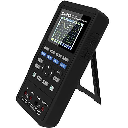 3 en 1 multímetro digital de señal osciloscópica de mano 70 MHz 2 CH + DMM + AWG 250 MSa/s (canal único) 125 MSa/s (canal doble)