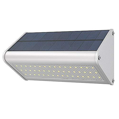 Solar Luce A Muro Paesaggio Esterno Luci Da Giardino Forno A Microonde Radar Luci Induzione 48LED...