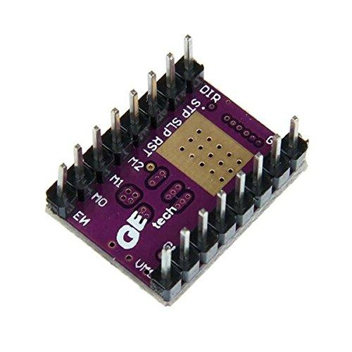 DescrizioneQuesto DRV8825 Stepper Motor Driver Module è l'aggiornamento di A4988, passo semplice e interfaccia di controllo di direzione, 4 strati, 2 oz di rame PCB per dissipazione di calore migliore, sei diversi passo risoluzioni: passo int...