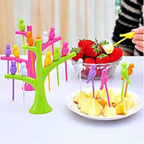 GKP Products Bird Fruit Fork with Stand Model Model 48705