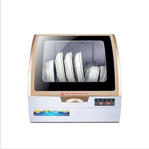 KASIQIWA Lavastoviglie Completamente Automatica Intelligente, Mini Piccolo Desktop 360 ° Stereo...