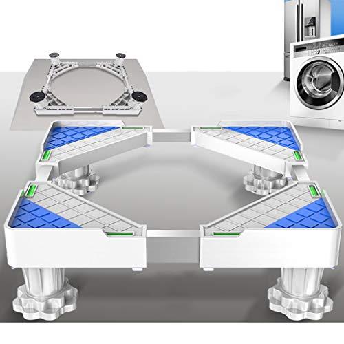 YUFEI Base della Lavatrice Supporto Regolabile per Frigorifero Staffa Mobile disinfezione di...