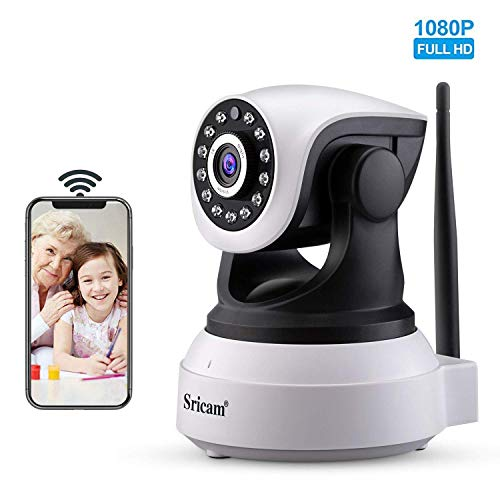 Sricam SP017 telecamera wi-fi interno senza fili 1080P telecamera videosorveglianza wifi telecamera...