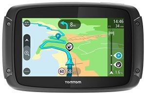 TomTom Rider 420 Navigationsgerät (Cleveres Display, Karten-Updates, Europa 48 Länder, Traffic-Update, Radarkameras, Freisprechen) schwarz 2