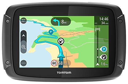 TomTom RIDER 42 - GPS Moto - Cartographie Europe 23, Trafic à Vie et Appel...