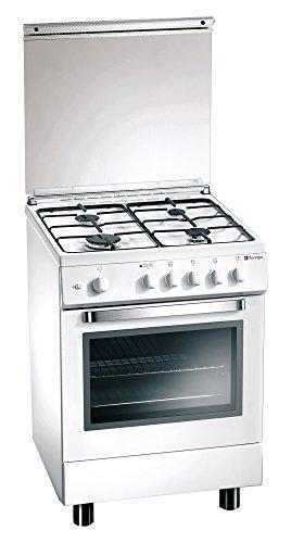 Tecnogas D53NWS - Forno Elettrico Multifunzione, Classe A, Bianco lucido, 60x50 cm