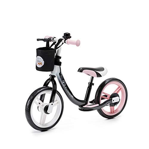 Kinderkraft Bicicletta SPACE Bici Senza Pedali 12 Pollici Ruote Freno a Mano con Accessori Campana...
