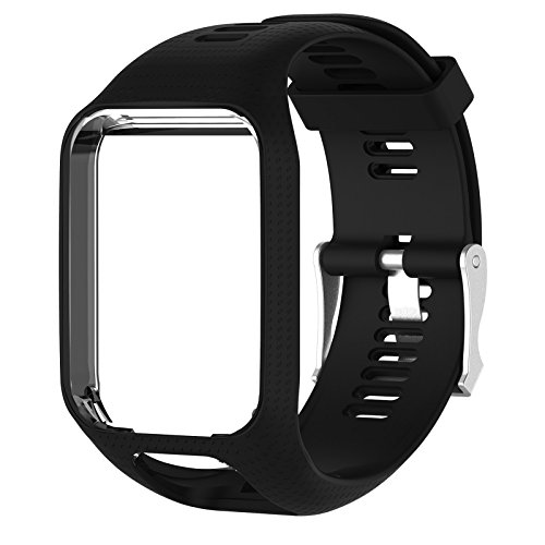 TPE cinturino fascia da polso per TomTom Golfer Adventurer 2runner 2/3Spark/Spark 3GPS orologio sportivo