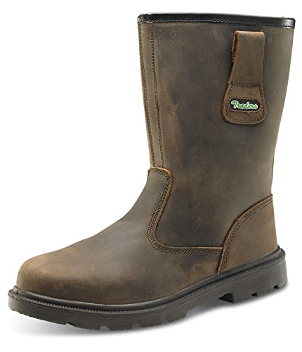 B-Click Traders PU/Rubber S3 Rigger Safety Boots