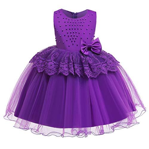 Mädchen Langarm Kleid Kleinkind Baby Kind Mädchen Patchwork Rüschen Tüll Party Kleid Prinzessin Kleider für 1-8 Jahre alt Kinder Kleider