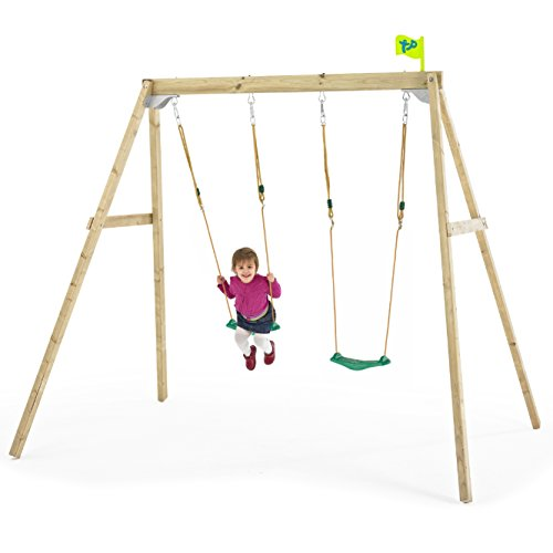 Wooden Swing Frame (Forest Double)