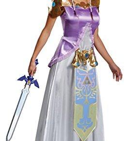 Disguise Adult Zelda Deluxe Fancy Dress Costume Small