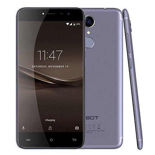 CUBOT Note Plus Smartphone 4G 5.2 Inch MTK6737T 1.5GHz,Quad Core Camera 13.0MP+13.0MP,3GB RAM+32GB ROM Fingerprint-Azul