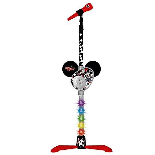 Mickey Mouse - Micrófono de pie con amplificador y conexión a MP3 (Claudio Reig 5371)
