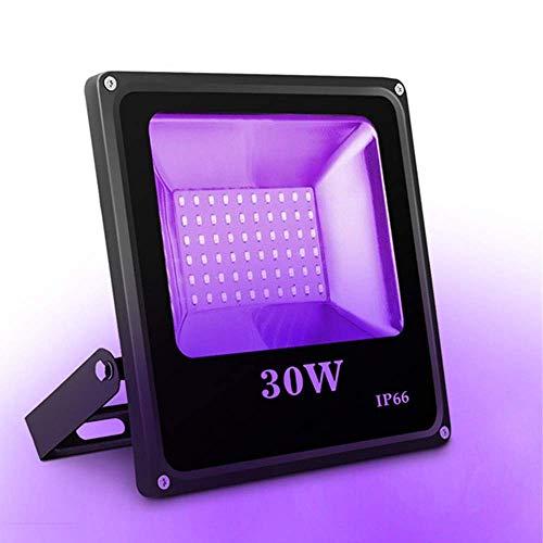 Lampada Discoteca UV, SOLMORE Luci Palco UV 30W Fari da Palco Black Light, Effetti Luce con 60 LEDs...