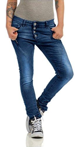 Lexxury Jeans Damen Stretch Haremshose