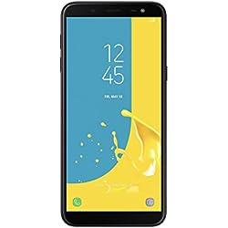 """Samsung Galaxy J6 - Smartphone de 5.6"""", 4G, wifi, bluetooth, octa core 1.6 GHz, memoria interna de 32 GB, 3 GB de RAM, cámara trasera de 13 MP, android 8.0, color negro [Versión española]"""