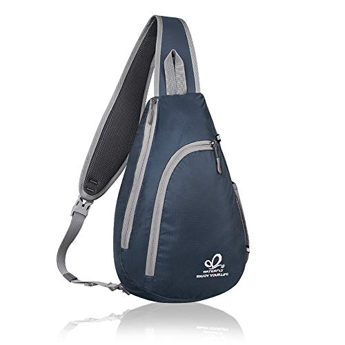 Waterfly Men's and Women's Nylon Backpack (Sapphire Blue)