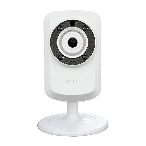 D-Link DCS-932L Wireless N IR Home Network Camera (White)