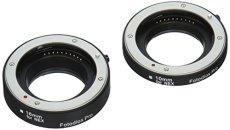 Tubo de extensión Macro Fotodiox Pro automático para Micro cuatro tercios (Micro-4/3, MFT) sistema de cámara sin espejo con enfoque automático (AF) y de la exposición con automático TTL para Extreme close-up (10 mm, 16 mm) para - OM-D, E-M5, E-P3, GH2, GH4, GF3, GF5, etc.
