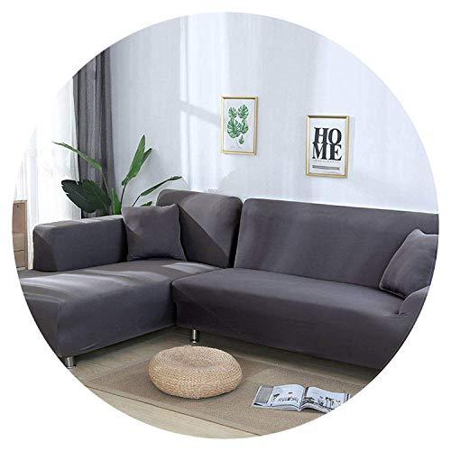 Jian Ya Na - Copridivano estensibile, copridivano angolare, in poliestere, estensibile per divano a...