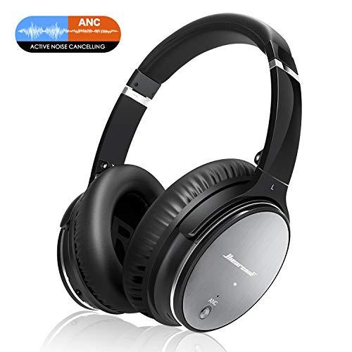 Casque Bluetooth Sans Fil Antibruit - Hiearcool Headphones Wireless Reduction de Bruit Universel Portable,Stéréo Qualité HIFI, pour tous les... 4