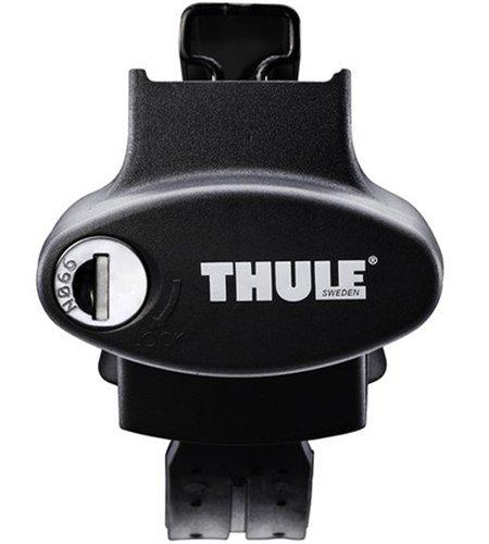 Thule 775 - Set 4 Piedi Rapid Crossroad per Barre Portatutto, Compatibile con Barre Longitudinali...