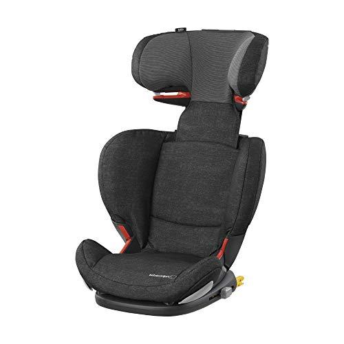 Bébé Confort RodiFix AirProtect Seggiolino Auto 15-36 kg, Gruppo 2/3 per Bambini dai 3.5 ai 12 Anni, Reclinabile, Isofix, Nomad Black