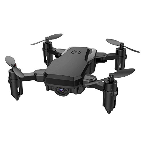 Saingace Drone con Telecamera Mini D2WH Pieghevole con WiFi FPV 2.0MP HD Camera 2.4G 6-Axis RC...