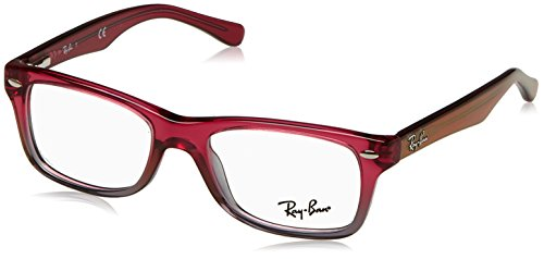 Rayban-0RY-1531-3648-46-Monturas-de-Gafas-Unisex-nios-Fuxia-Gradient-Iridescent-Grey