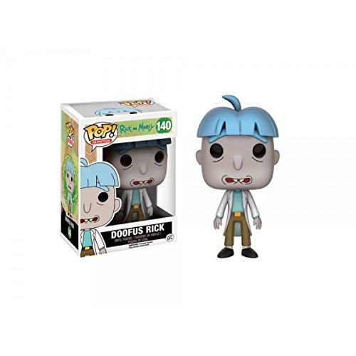 Funko - Figurine Rick et Morty - Doofus Rick Exclu Pop 10cm - 0889698108621