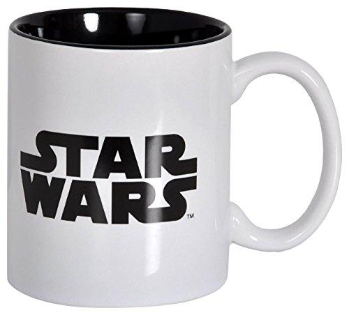 SD Toys SDTSDT89334 - Taza de ceramica, diseño Star Wars, color blanco
