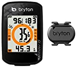Bryton Rider 15C con Sensore di Cadenza, Nero, Taglia Unica