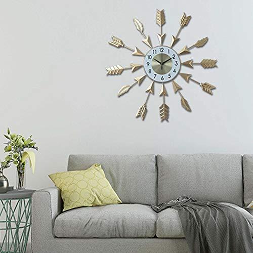 Easy Go Shopping Golden Light Nordic personalità Orologio di Arte Minimalista Tranquillo Orologio...