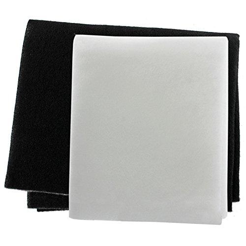 SPARES2GO campana Kit di filtri grasso per galvamet Ventola estrattore ventilazione (Pack da...